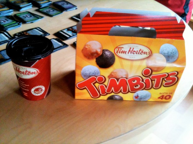 Delicious Timbits from Tim Horton's