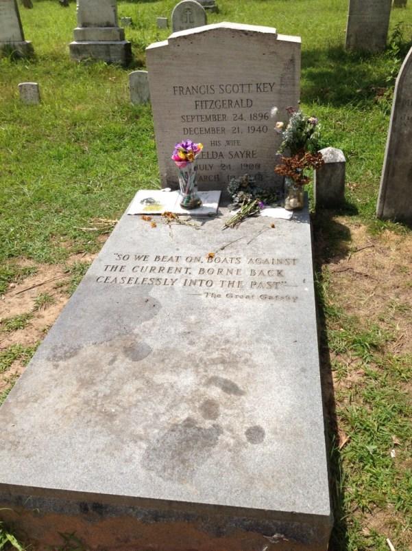 Grave of F. Scott Fitzgerald