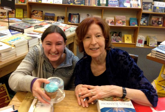 Dream come true: Meeting my favorite and most influential author, Sharon Kay Penman!