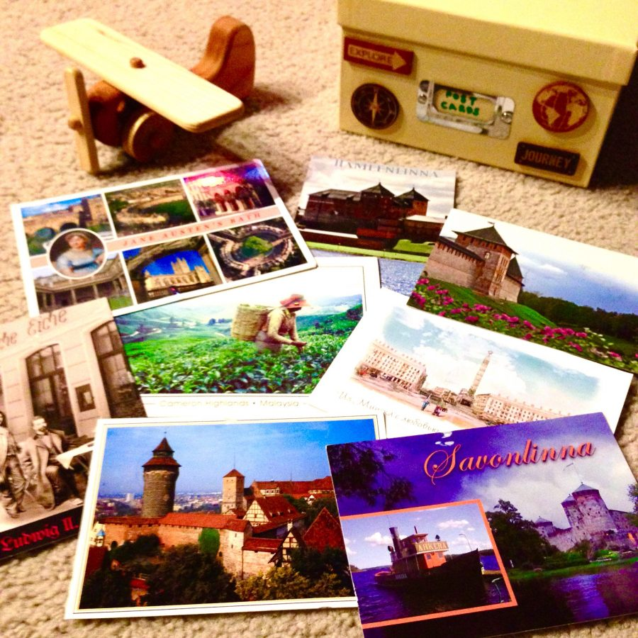 Armchair Travel By Postcard, or how to feed your wanderlust obsession while at home