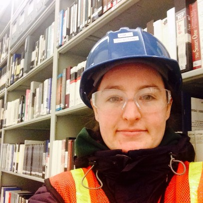 Hardhat in the stacks