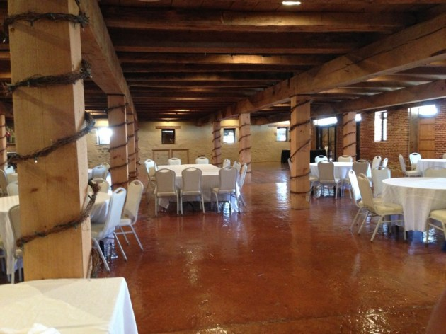 Wedding Location 2: Barn Interior