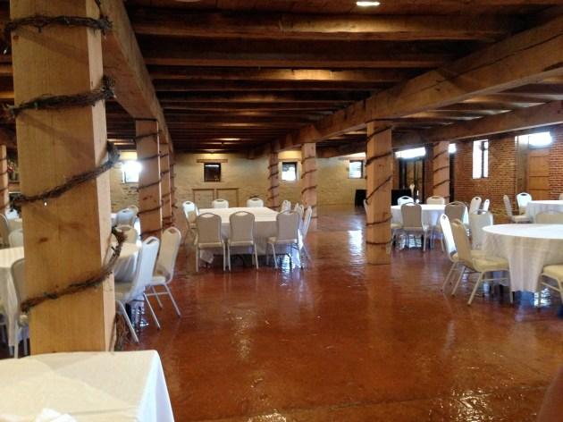 Wedding Location 2: Barn Interior