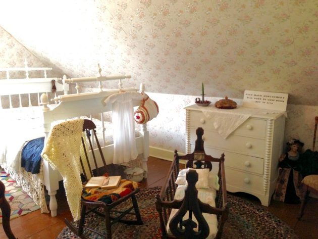 Lucy Maud Montgomery Birth Room