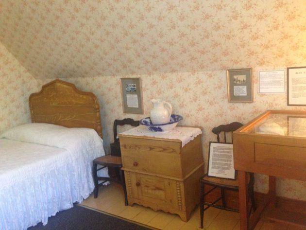 Lucy Maud Montgomery bedroom