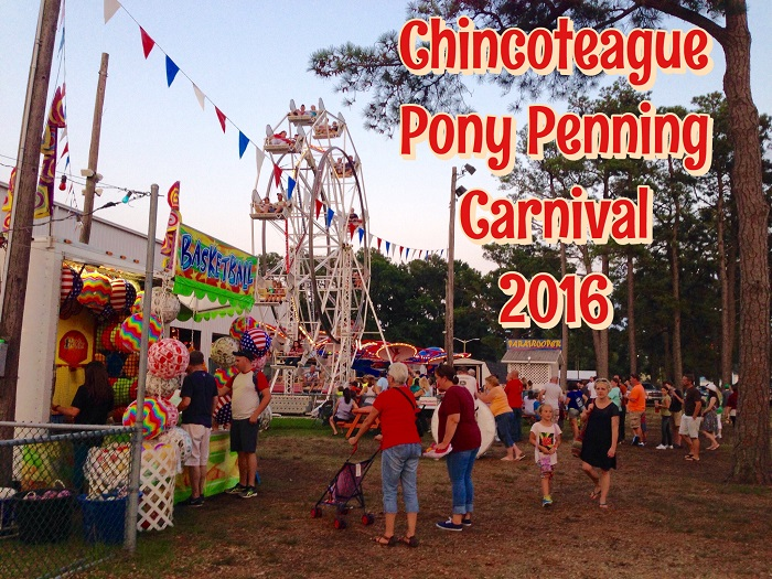 Postcard from Chincoteague Pony Penning Carnival 2016