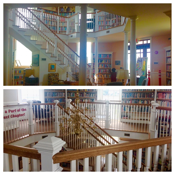 Chincoteague Library Interior
