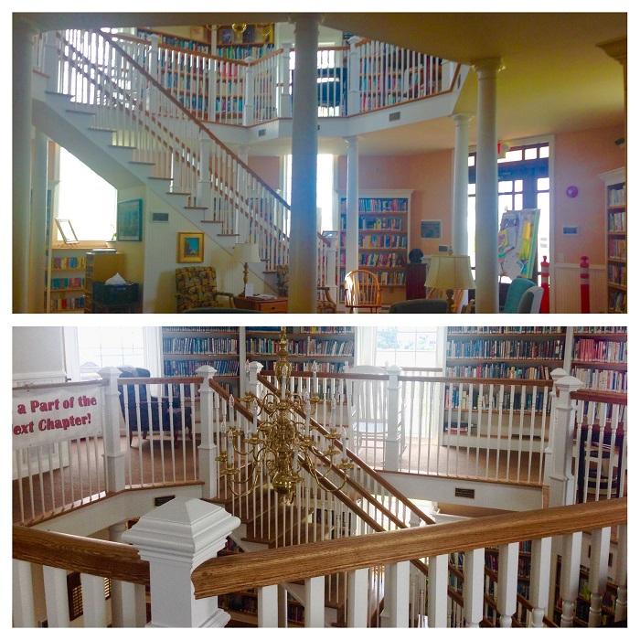 Chincoteague Library Interior