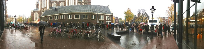 Anne Frank House Line
