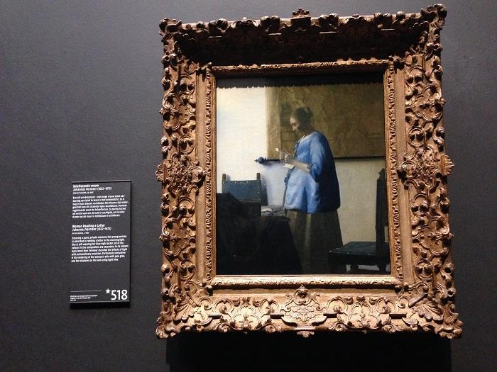Vermeer's Girl in Hyacinth Blue