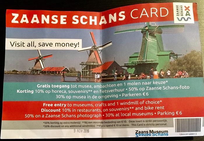 Zaanse Schans card