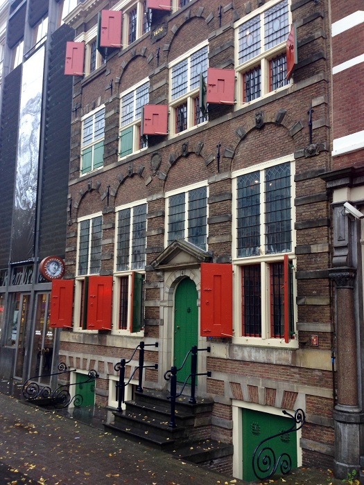 Rain, Rain Go Away, or We'll Visit More of Amsterdam's Museums Today