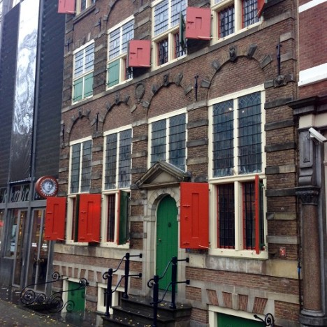 Two Synagogues, Both Alike in Dignity in Amsterdam's Jewish Quarter