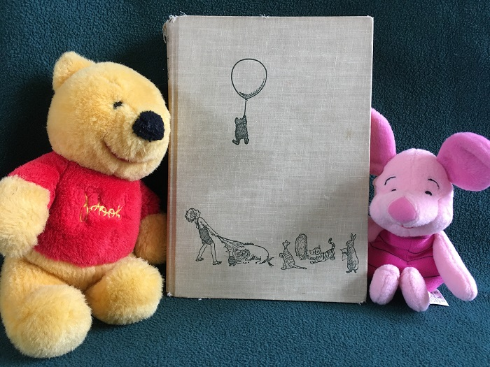 Pooh Piglet and Book