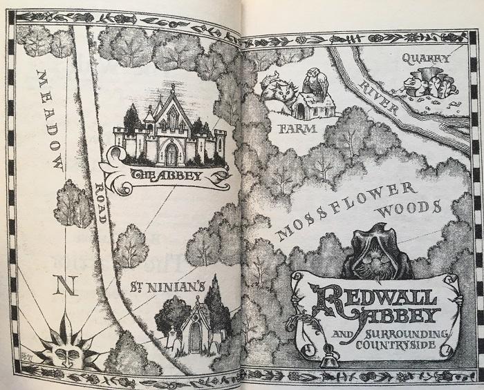 Redwall Map