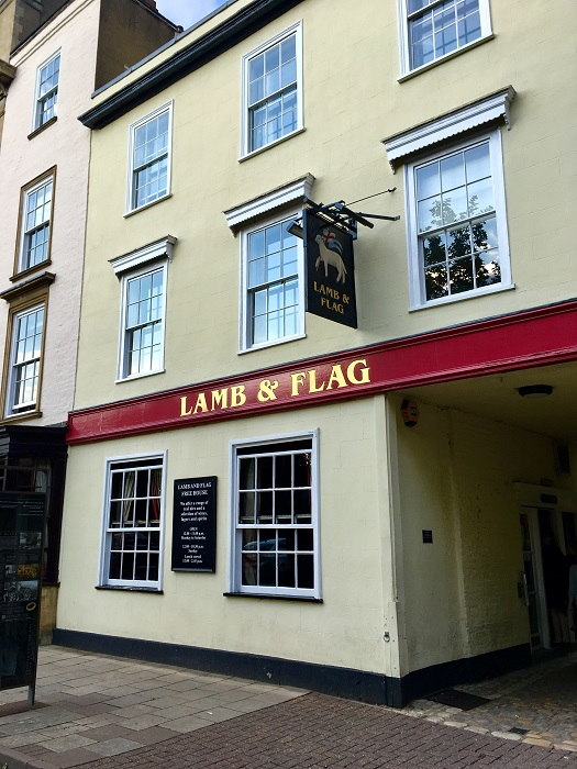 Literary Oxford: Lamb and Flag pub