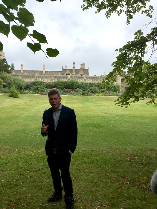 Literary Oxford: Walking Tour