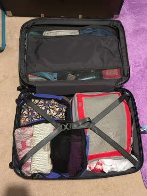 Suitcase pack for prince edward island: Suitcase cube packingcube packing
