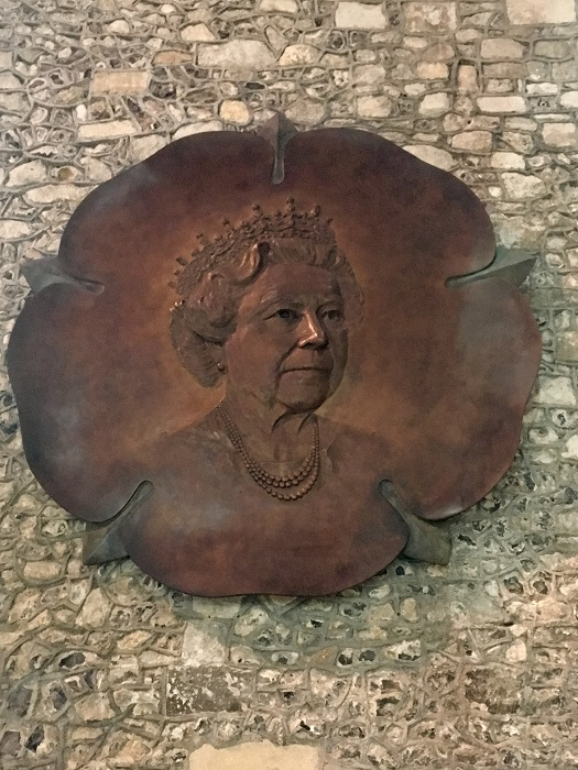 Elizabeth II at Winchester