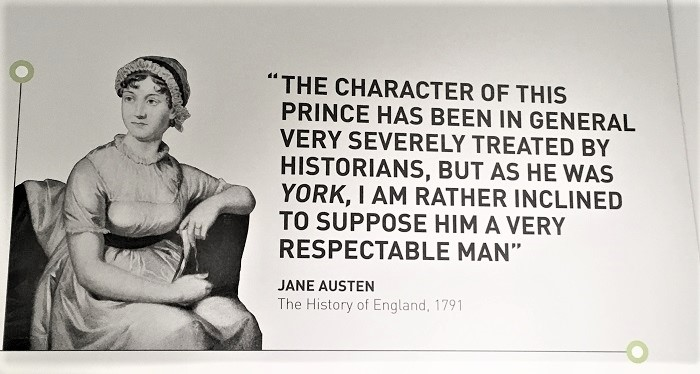 Jane Austen Quote on Richard III