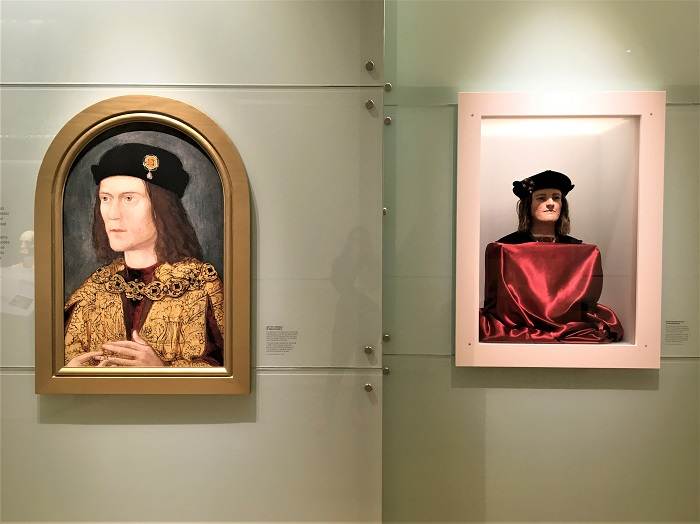 Richard III portrait and bust