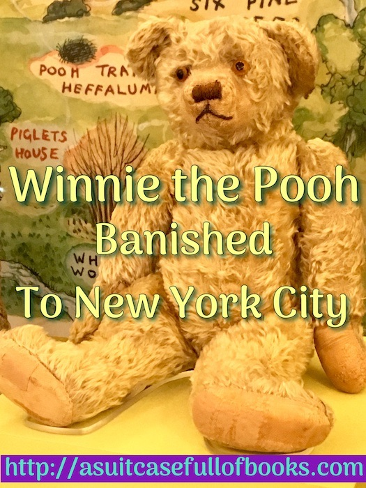 NYPL Pooh Bear Pin
