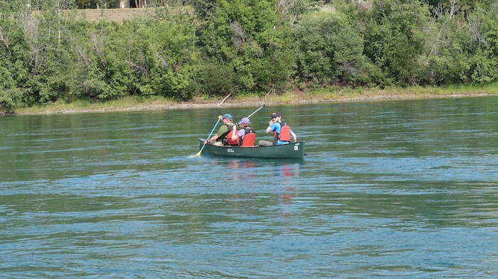 Yukon River Canoe, Whitehorse, Canada