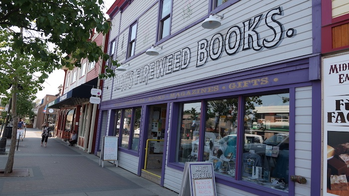 Mac's Fireweed Books, Whitehorse, Yukon Territory, Canada