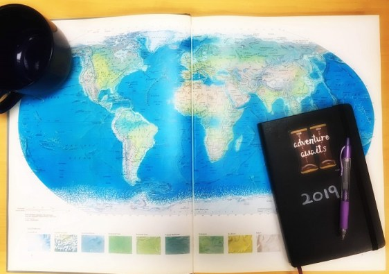 2019 Travel Plans and To Be Read Lists