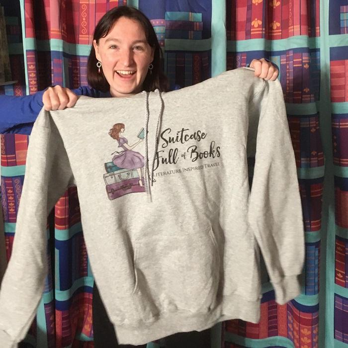 Sweatshirt with my blog logo