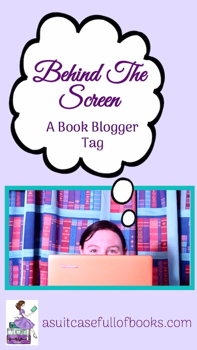 Behind the Screen Book Tag Pinterest Pin