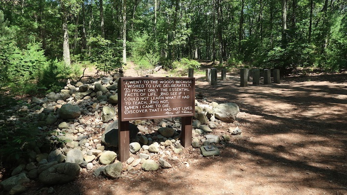 Thoreau's Walden Pond Cabin Site