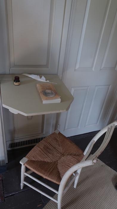 Hawthorne's Desk in The Old Manse