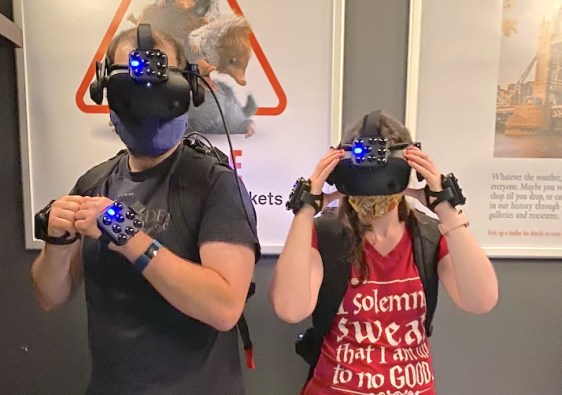 Virtual Reality Experience at Harry Potter New York