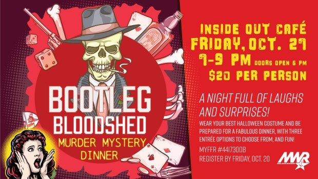 Bootleg Bloodshed Murder Mystery Dinner