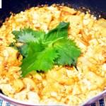 菊芋(きくいも)麻婆豆腐