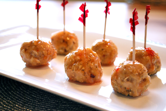 Asian Cocktail Meatballs