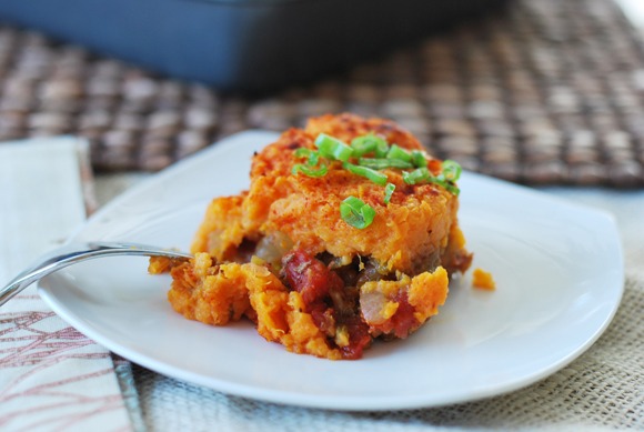 Mexican Sweet Potato Shepherd Pie