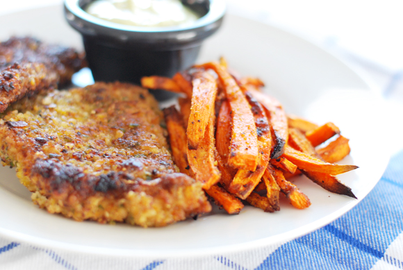 Paleo Fish 'n Chips