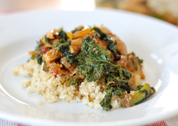 Asian Chicken Kale Stir Fry