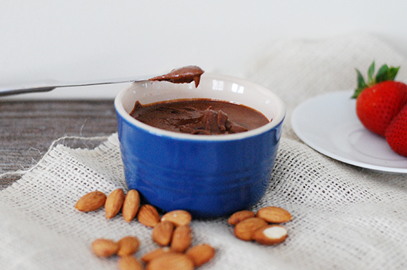 Chocolate Flax Almond Butter