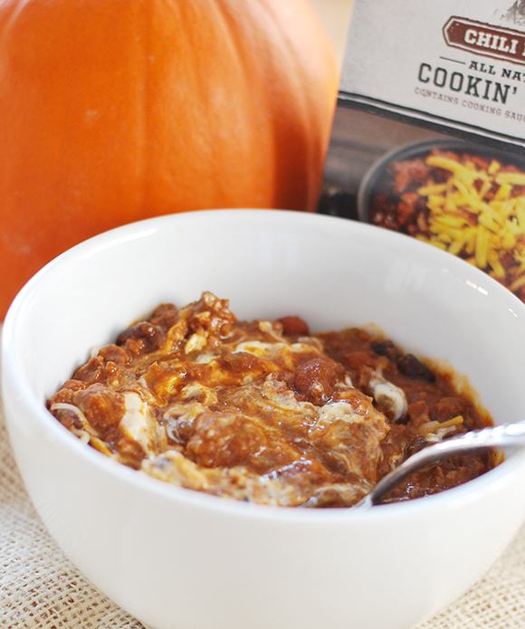 Stubbs Pumpkin Slow Cooker Chili