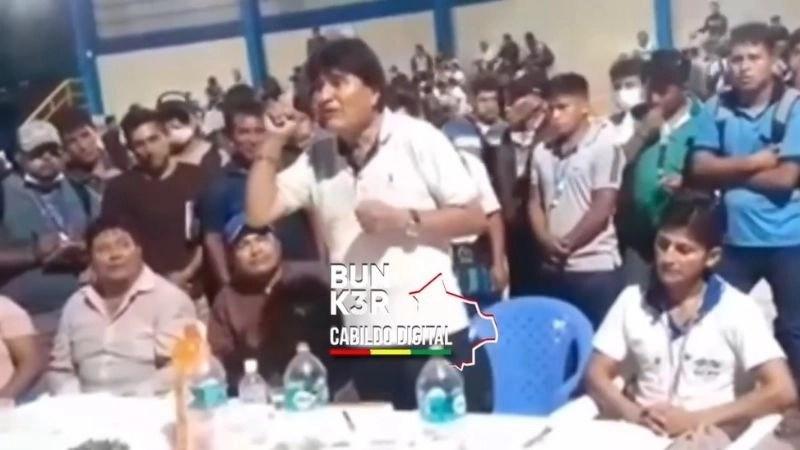 Evo pidió cuidar a Áñez con tal que garantice las elecciones - Asuntos  Centrales