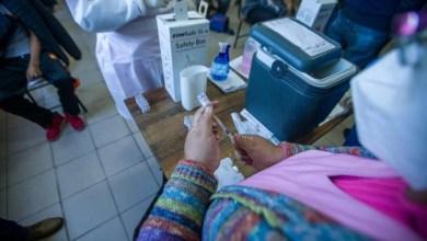 vacunación en Santa Cruz