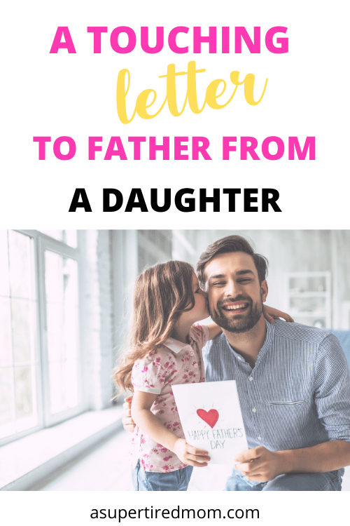 A TOUCHING LETTER TO FATHER FROM A DAUGHTER
