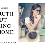 THE TRUTH ABOUT WORKING FROM HOME!