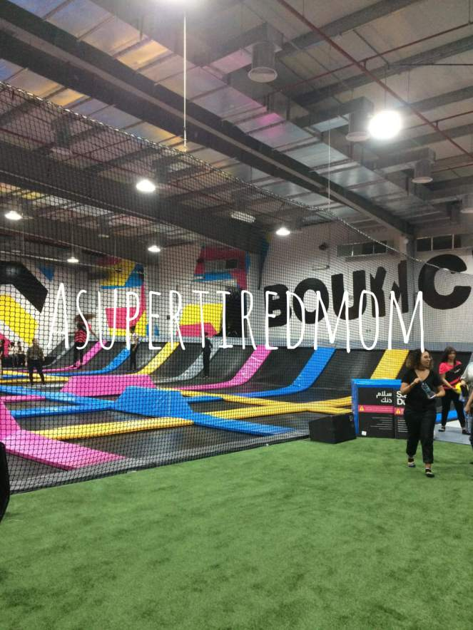 BOUNCE-WORLD'S FIRST LADIES ONLY TRAMPOLINE PARK IN RIYADH-KSA