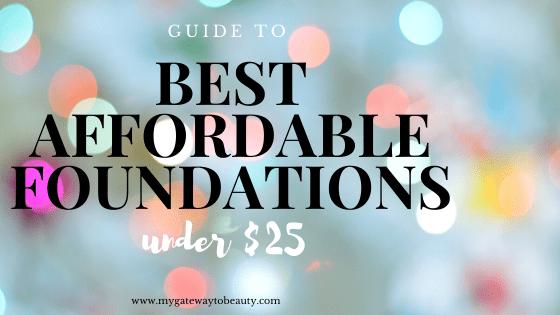 best cheap foundations
