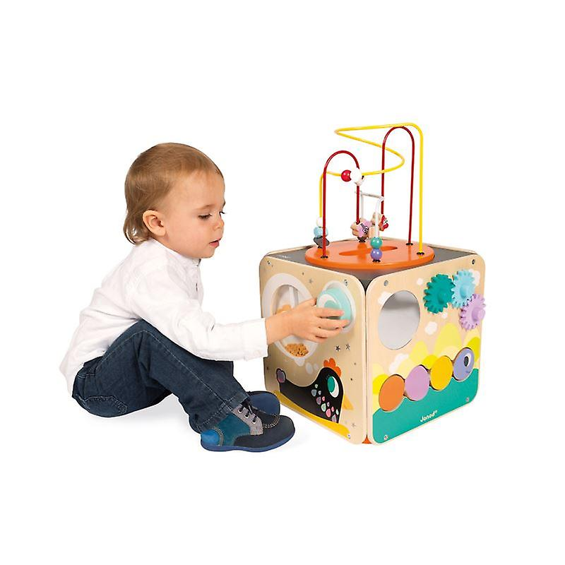activities and play ideas for 6 to 9 month old baby activity cube