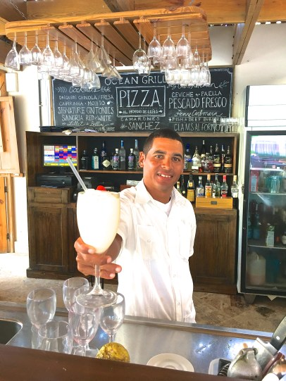 Jose Miguel, our friendly bartender